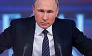 Putin trzyma się mocno