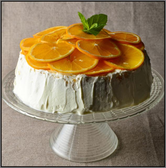 fot. Mariusz Robak/ Ciasto pomarańczowe