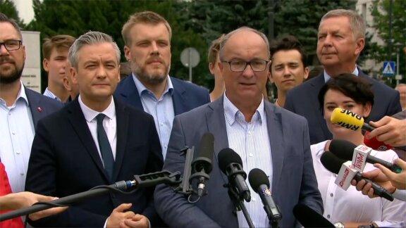 Lewica apeluje o utworzenie wspólnej listy opozycji do Senatu