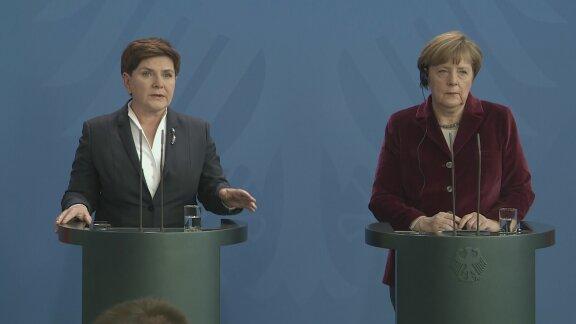 Premier Szydło z wizytą w Berlinie