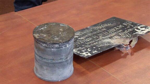 Kapsuła czasu odnaleziona w Moście Tczewskim
