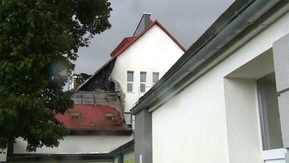 Pożar szkoły podstawowej w Zachodniopomorskiem. Wewnątrz było 75 osób