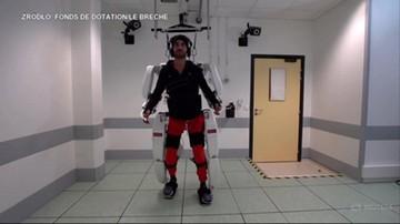 Sparaliżowany zaczął chodzić. Sztucznym szkieletem poruszał za pomocą myśli