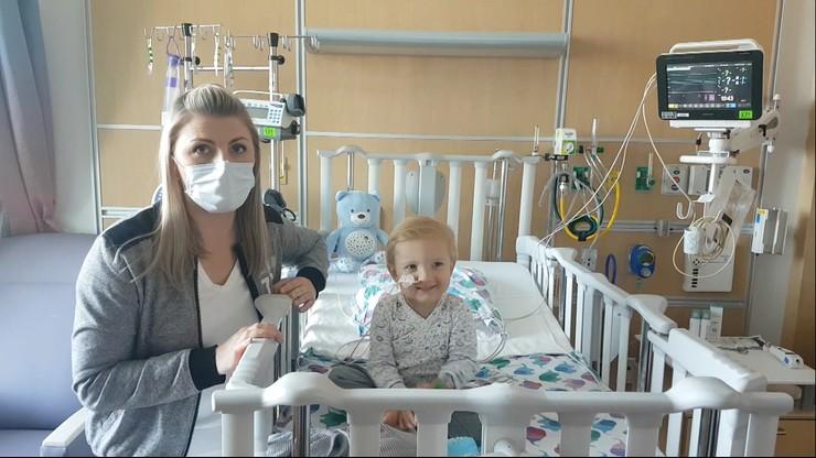 Antoś po operacji w USA wraca do Polski