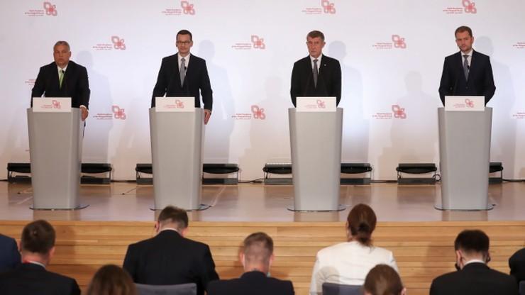 """Szczyt Grupy Wyszehradzkiej w Warszawie. """"Chcemy pomóc UE w jej zmianach"""""""
