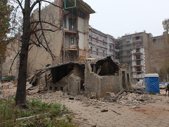 Kamienica w Łodzi zawaliła się w piątek rano