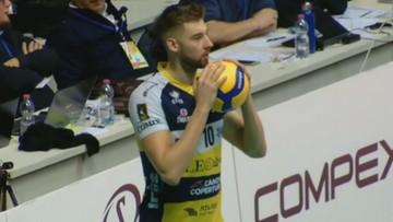 Puchar CEV: Modena o krok od półfinału. Bednorz najlepiej punktującym