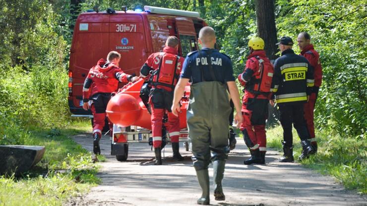 Spali w namiocie w centrum Warszawy. Uwięziła ich fala powodziowa na Wiśle
