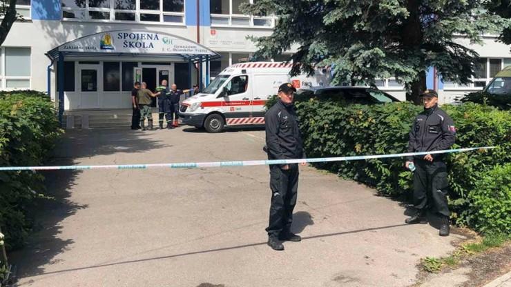 Atak nożownika w słowackiej szkole. Policja przedstawia nowe informacje