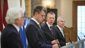 Inicjatywa Polski ws. sytuacji na Białorusi. Poparły ją trzy państwa