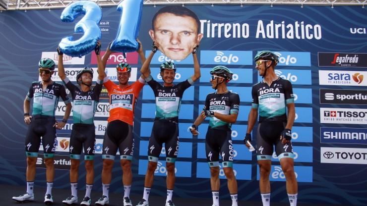 Tirreno-Adriatico: Simon Yates wygrał wyścig, Rafał Majka na podium