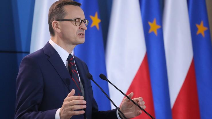 """Premier i eksperci o """"S"""". """"Musimy to uczynić projektem dla całej Europy"""""""