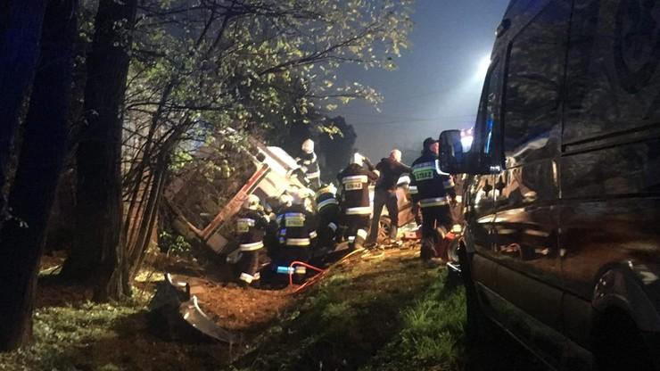 Wypadek w Niegardowie. Cztery ofiary śmiertelne