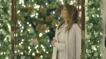 """Świątecznie u Trumpów. """"Duch Ameryki lśni w Białym Domu"""""""