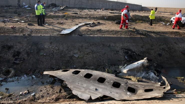 Płonął w powietrzu. Nowe informacje ws. katastrofy ukraińskiego samolotu