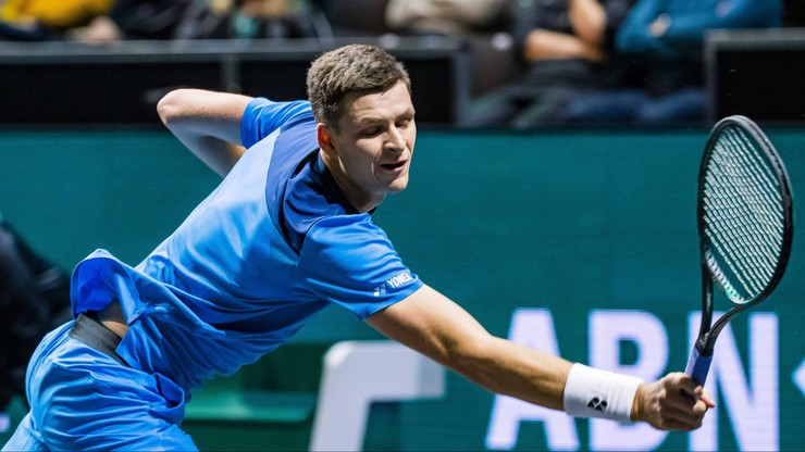 ATP w Marsylii: Hurkacz awansował do 1/8 finału