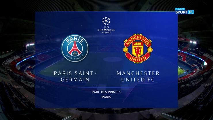 Paris Saint-Germain - Manchester United 1:2. Skrót meczu