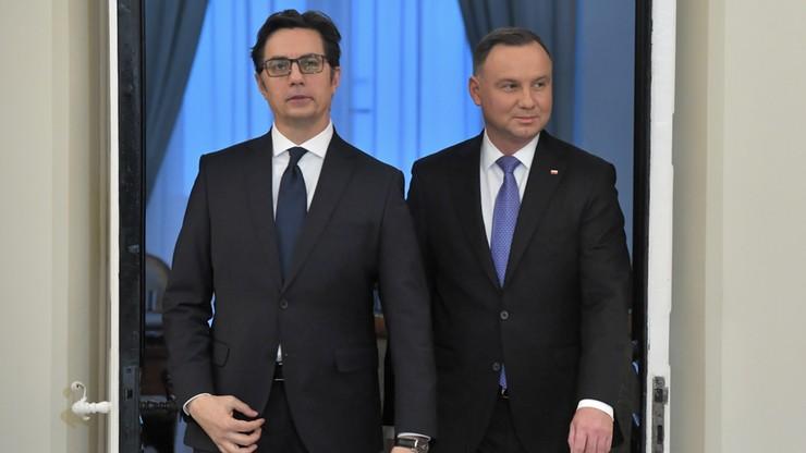 Prezydent: wspieramy euroatlantyckie i unijne aspiracje Macedonii Północnej