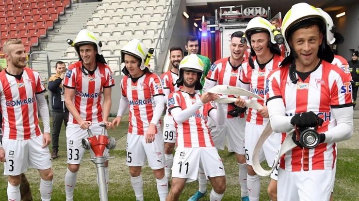 Grad bramek w noworocznym meczu Cracovii