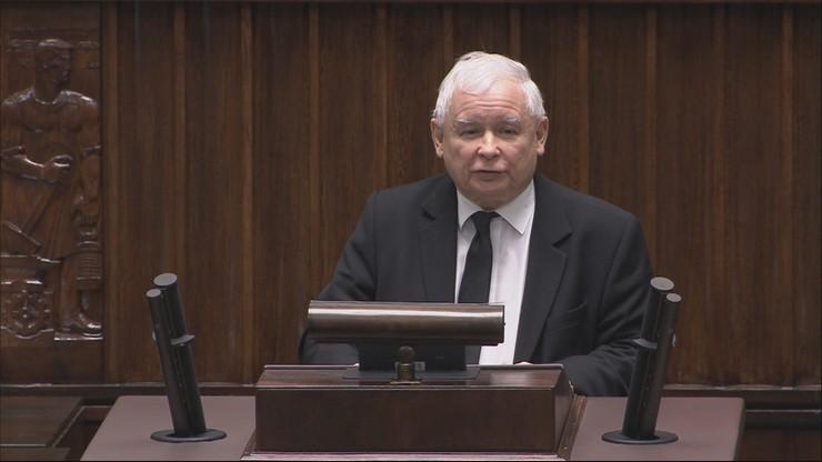 """""""Koniec opozycji totalnej"""". Kaczyński zaskoczył w Sejmie"""