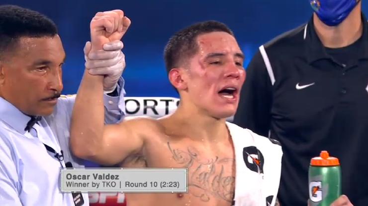 Top Rank w Las Vegas: Oscar Valdez zwycięzcą walki wieczoru!