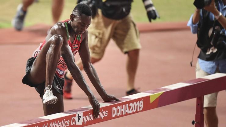 Utytułowany kenijski biegacz zainfekowany koronawirusem