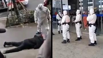 """""""W Wuhan ludzie mdleją na ulicach"""". Przerażające nagrania"""