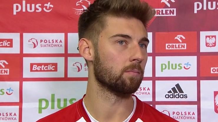 Bartosz Bednorz o powrocie do reprezentacji: Jestem dumny, że mogłem wyjść na boisko z orzełkiem na piersi