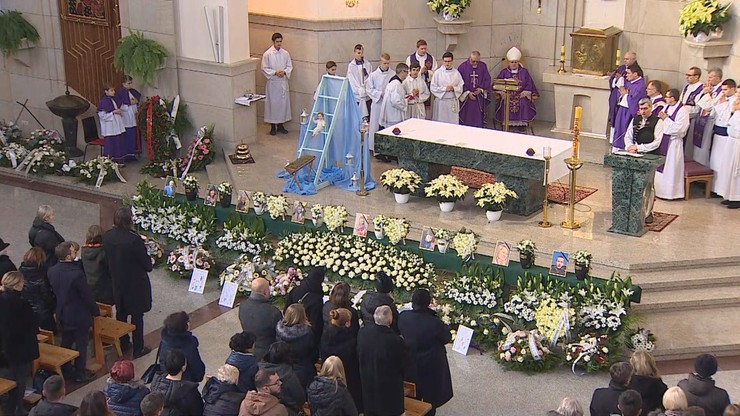 Pogrzeb ośmiu ofiar wybuchu gazu w Szczyrku