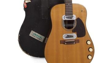 Gitara legendarnego muzyka sprzedana za rekordową cenę
