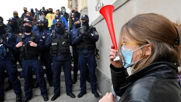 Protesty ws. aborcji. Policyjny bilans
