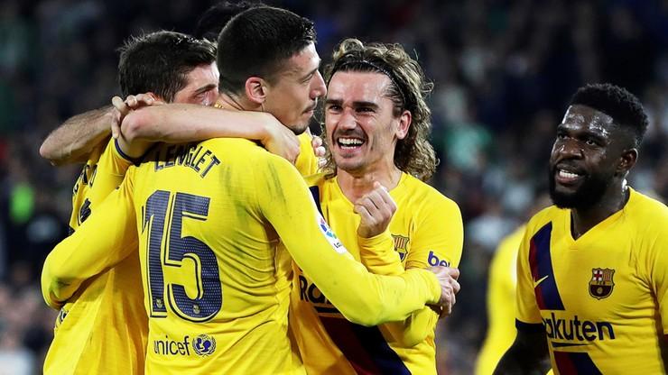 La Liga: Barcelona z rewelacyjnym Getafe, Valencia z Atletico