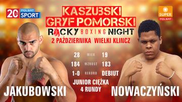 Gdzie obejrzeć galę Kaszubski Gryf Pomorski Rocky Boxing Night?