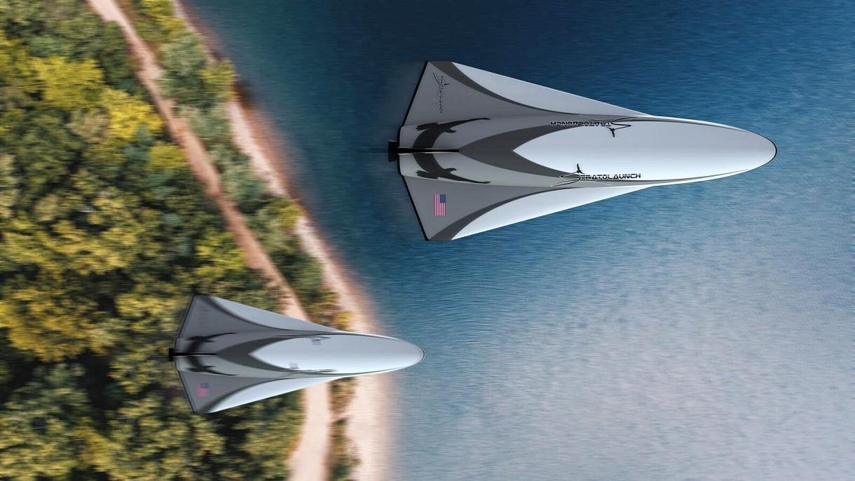 """Największy samolot świata wraca do gry. """"Wystrzeli hipersoniczny pojazd"""""""