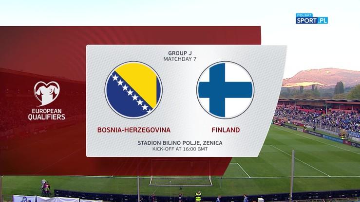 Bośnia i Hercegowina - Finlandia 4:1. Skrót meczu