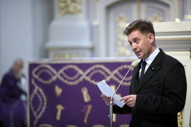 Rafał Królikowski pożegnał brata
