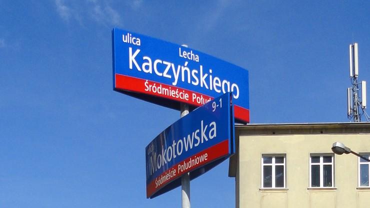 Radni PiS: Trzaskowski obiecał ulicę Lecha Kaczyńskiego, czekamy