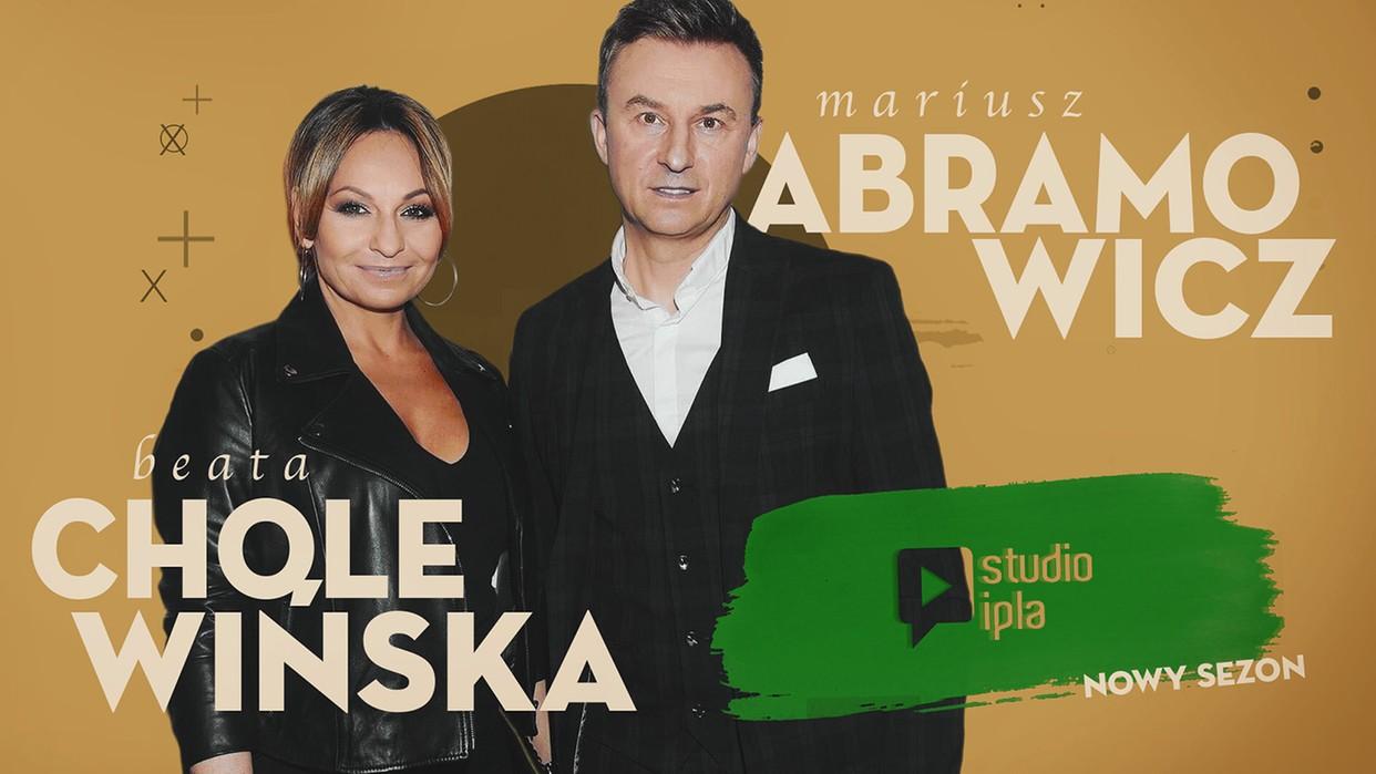 Beata Cholewińska i Mariusz Abramowicz gośćmi Studio IPLA