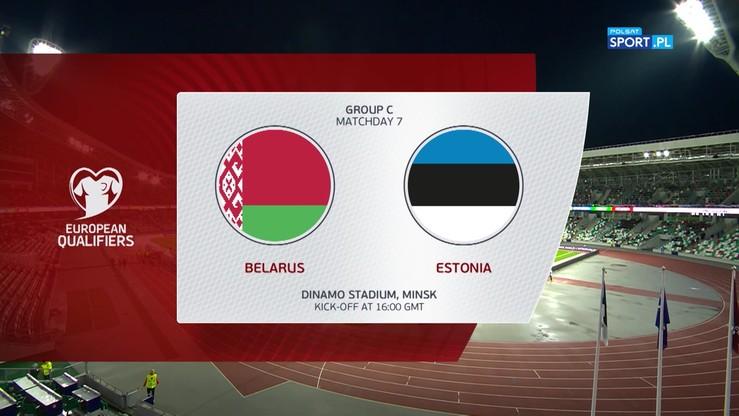 Białoruś - Estonia 0:0. Skrót meczu