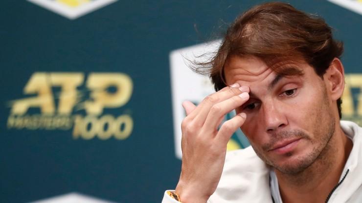 ATP w Paryżu: Krecz Nadala. W finale Djokovic z Shapovalovem