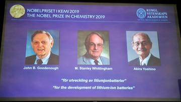 Nobel z chemii za baterie litowo-jonowe