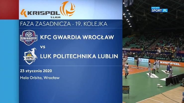 KFC Gwardia Wrocław – LUK Politechnika Lublin 3:1. Skrót meczu
