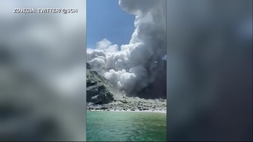 Wybuch wulkanu w Nowej Zelandii. Co najmniej 5 osób zginęło, a 20 jest rannych [WIDEO]