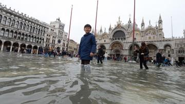 Wenecji grozi trzecia w tym tygodniu wysoka fala