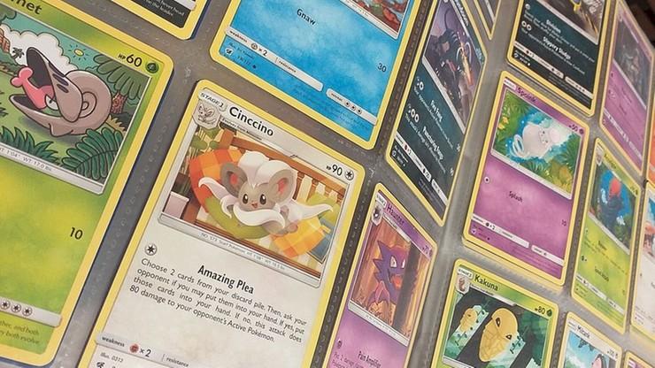 13-latek ukradł kolekcjonerskie karty z Pokemonami za prawie 2 tys. zł
