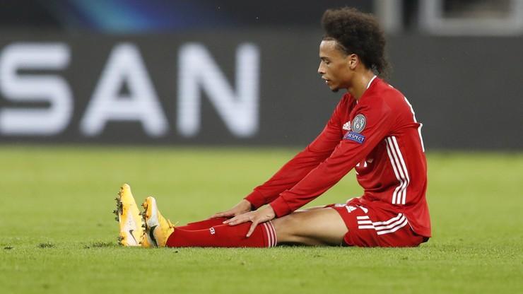 Bundesliga: Leroy Sane kontuzjowany