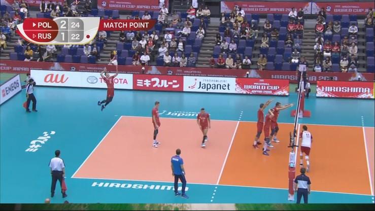 3:1 wygrali Polacy z Rosją w meczu Pucharu Świata