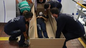 Kilka sekund i łóżko szpitalne staje się trumną. Szokujące rozwiązanie