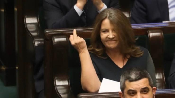 Gest Joanny Lichockiej. Prezydium Sejmu uchyliło karę dla posłanki