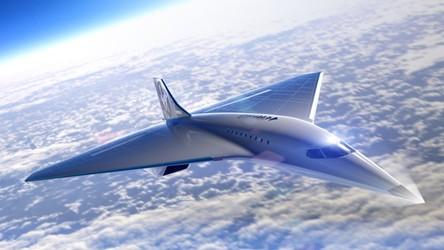 Virgin Galactic pokazało projekt naddźwiękowego samolotu przyszłości [FILM]